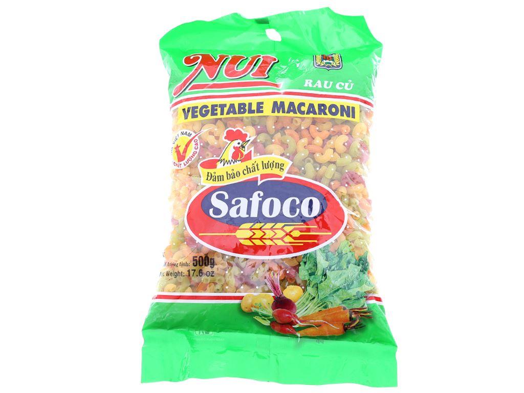 Nui rau củ chữ C Safoco gói 500g 1