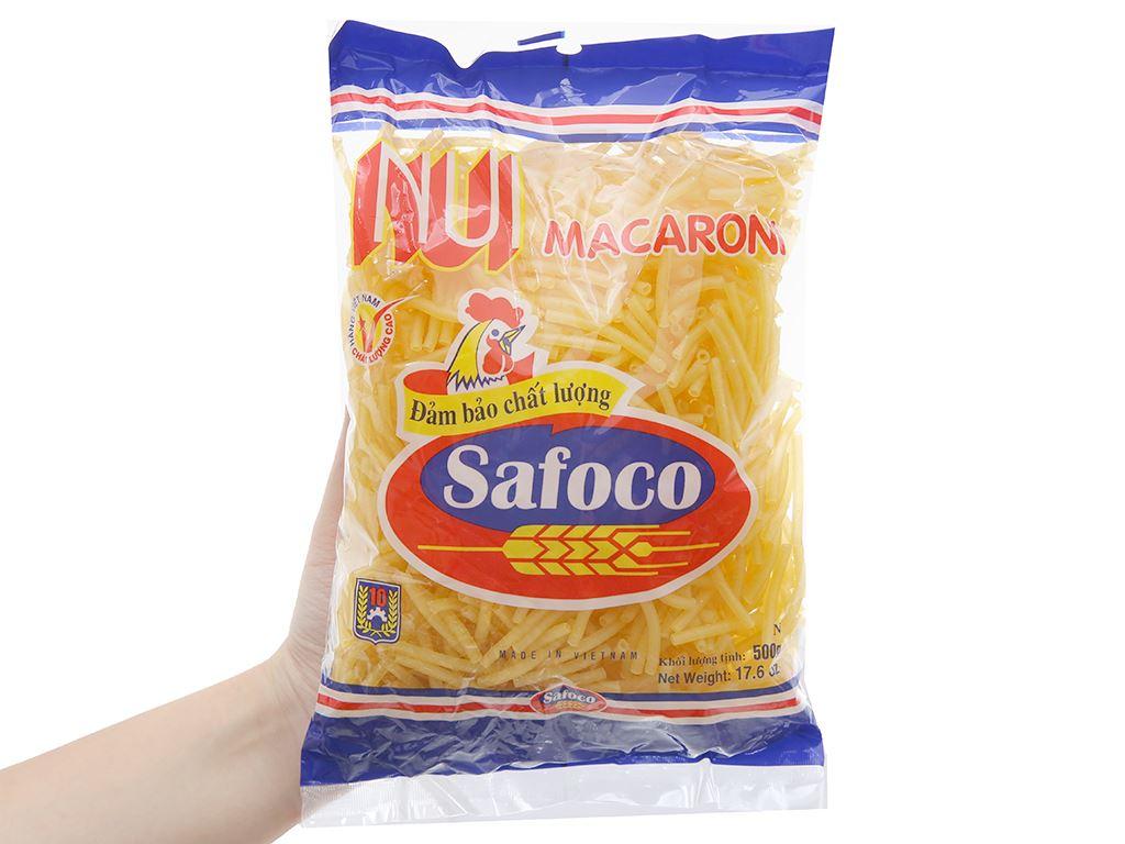 Nui ống nhỏ Macaroni Safoco gói 500g 5