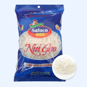 Nui gạo ống lớn Safoco gói 400g