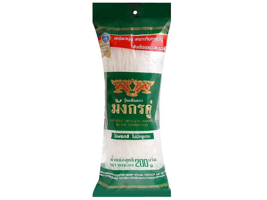 Miến đậu xanh Double Dragon Thai Wah gói 200g 2