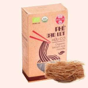 Phở gạo lứt hữu cơ Bích Chi hộp 200g