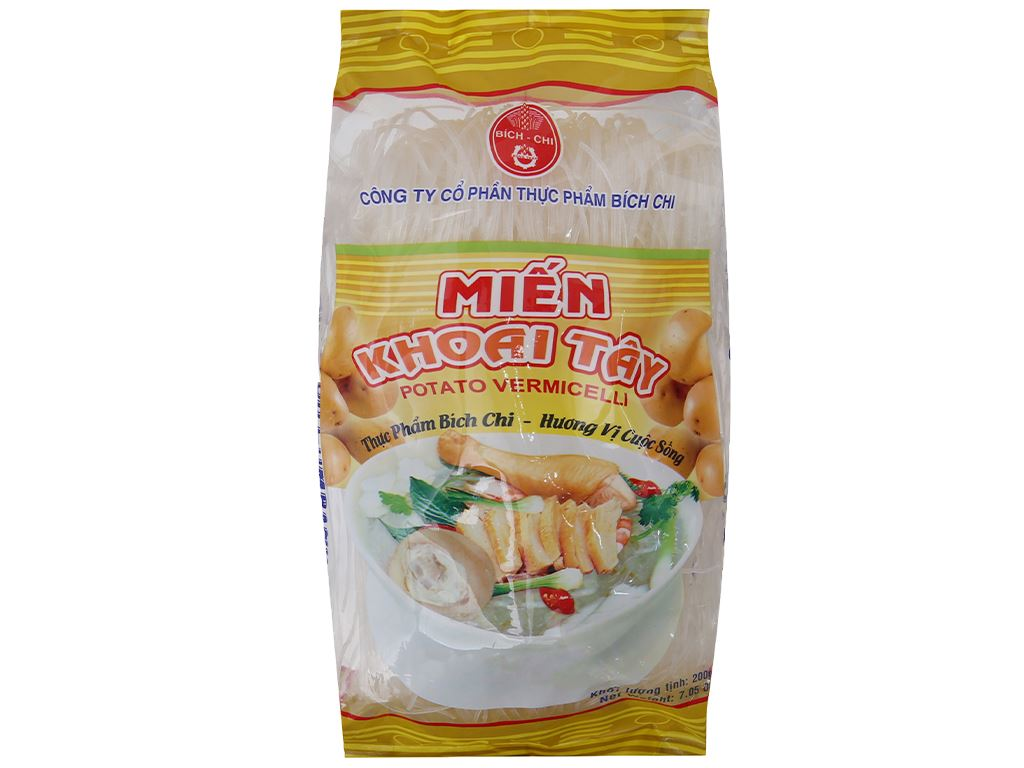 Miến khoai tây Bích Chi gói 200g 2