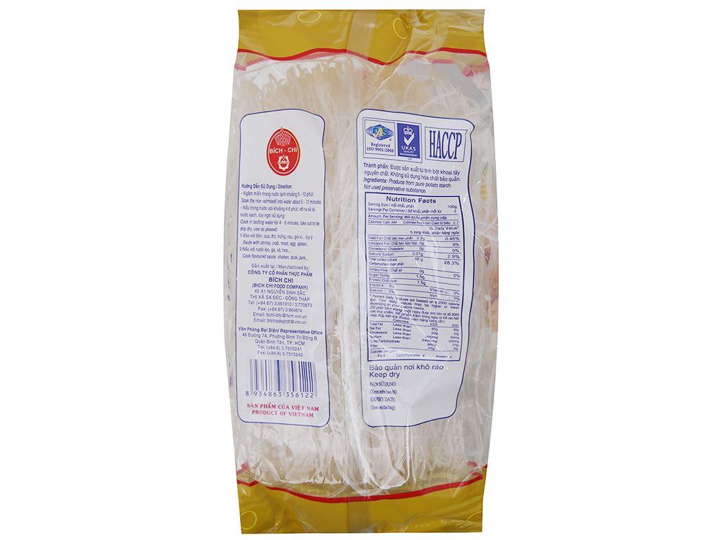 Miến khoai tây Bích Chi gói 200g 3