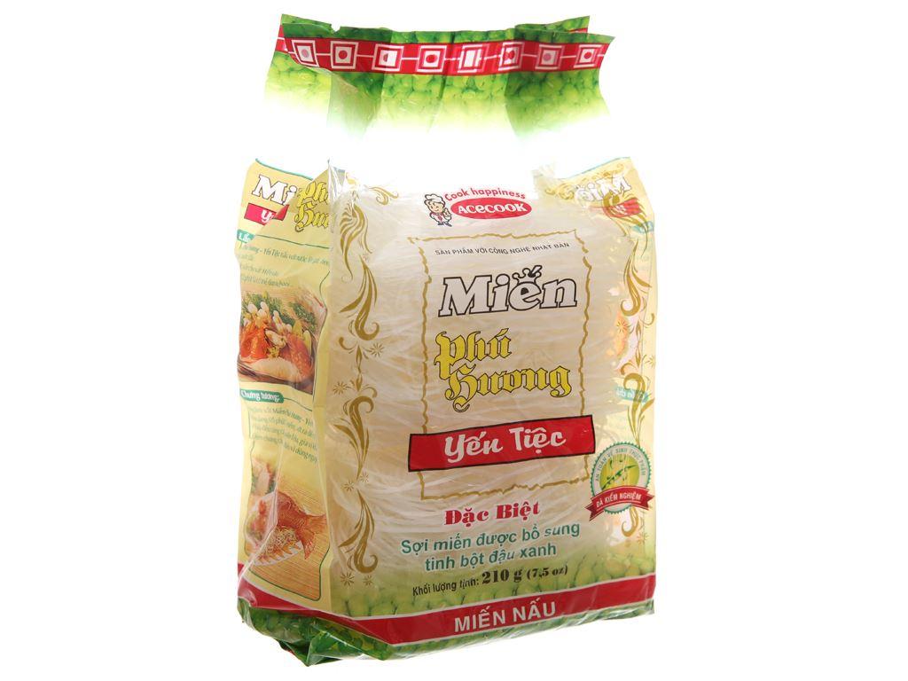 Miến đậu xanh Phú Hương gói 210g 2