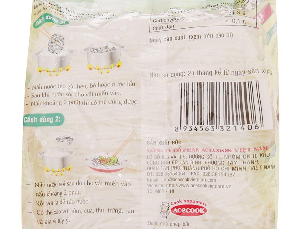 Miến đậu xanh Yến tiệc Phú Hương Vina Acecook gói 210g 4