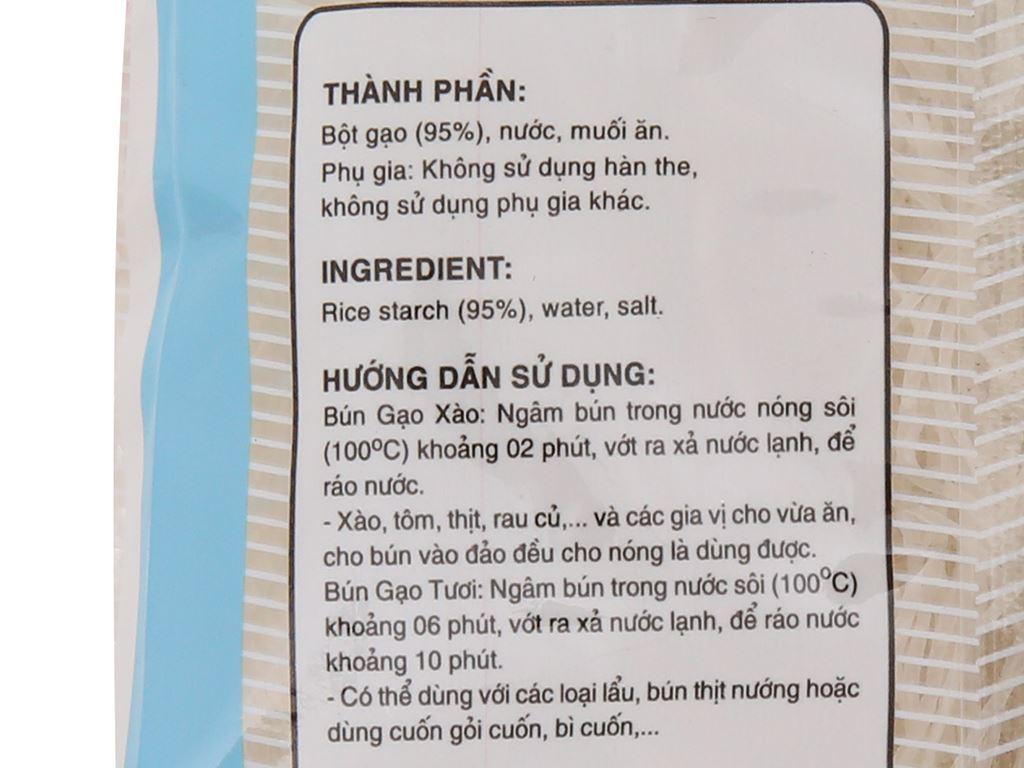 Bún gạo khô Lotus gói 200g 5