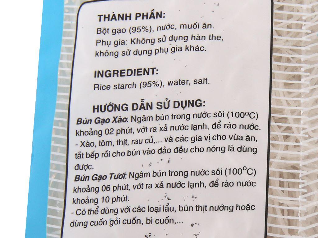Bún gạo khô Lotus gói 400g 5