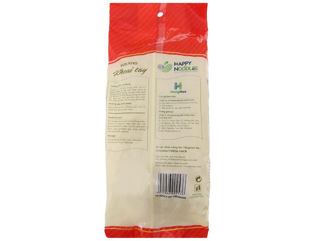 Bún khô khoai tây Happy Noodles gói 400g 3