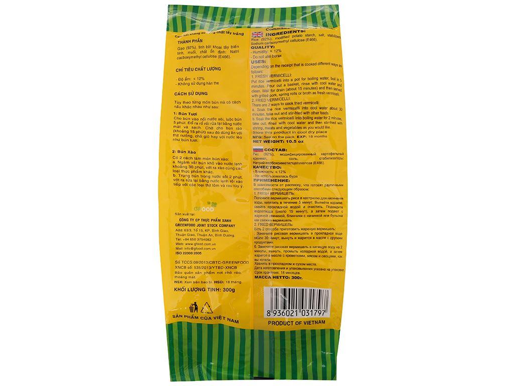 Bún gạo khô Nàng Hương Vinaly gói 300g 3