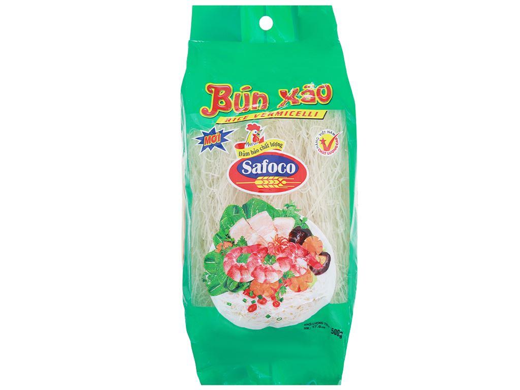 Bún xào khô Safoco gói 500g 1