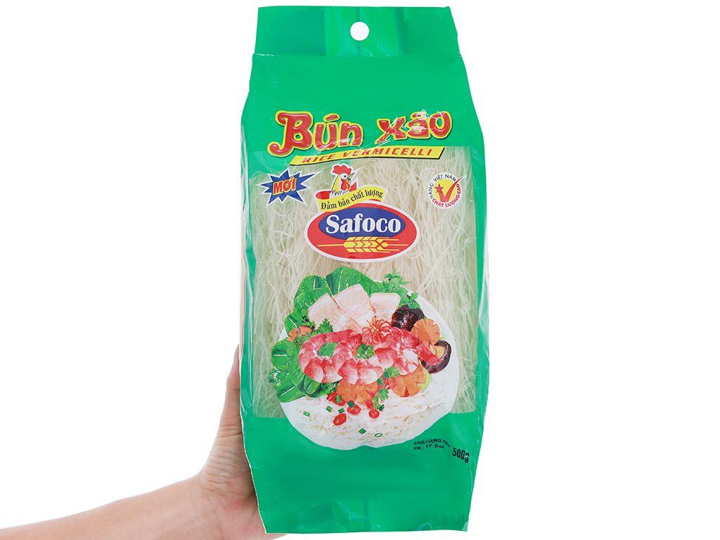 Bún xào khô Safoco gói 500g 3
