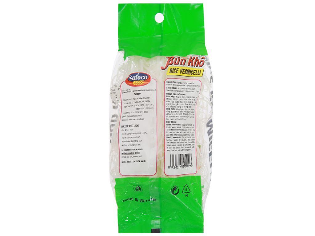 Bún gạo khô Safoco gói 200g 2
