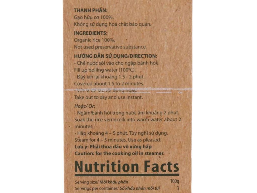 Bánh hỏi hữu cơ Bích Chi hộp 200g 4