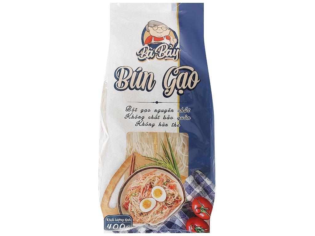Bún gạo Bà Bảy gói 400g 1