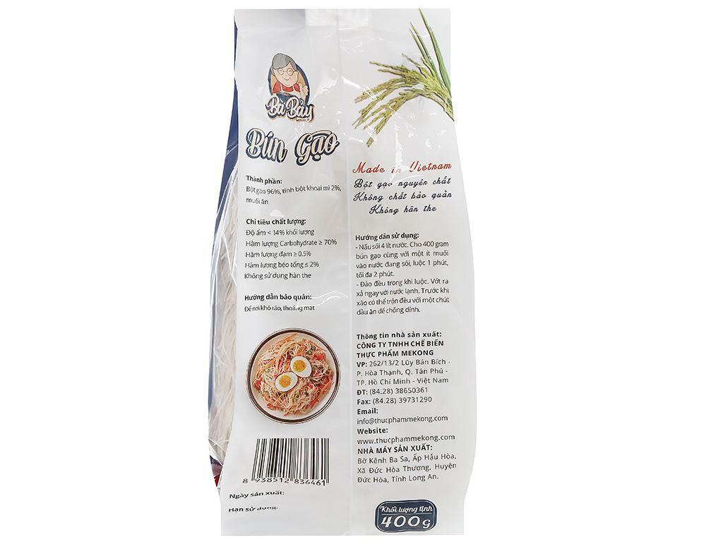 Bún gạo Bà Bảy gói 400g 2
