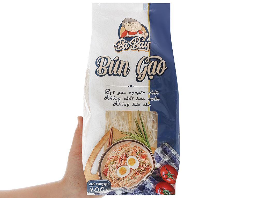 Bún gạo Bà Bảy gói 400g 4