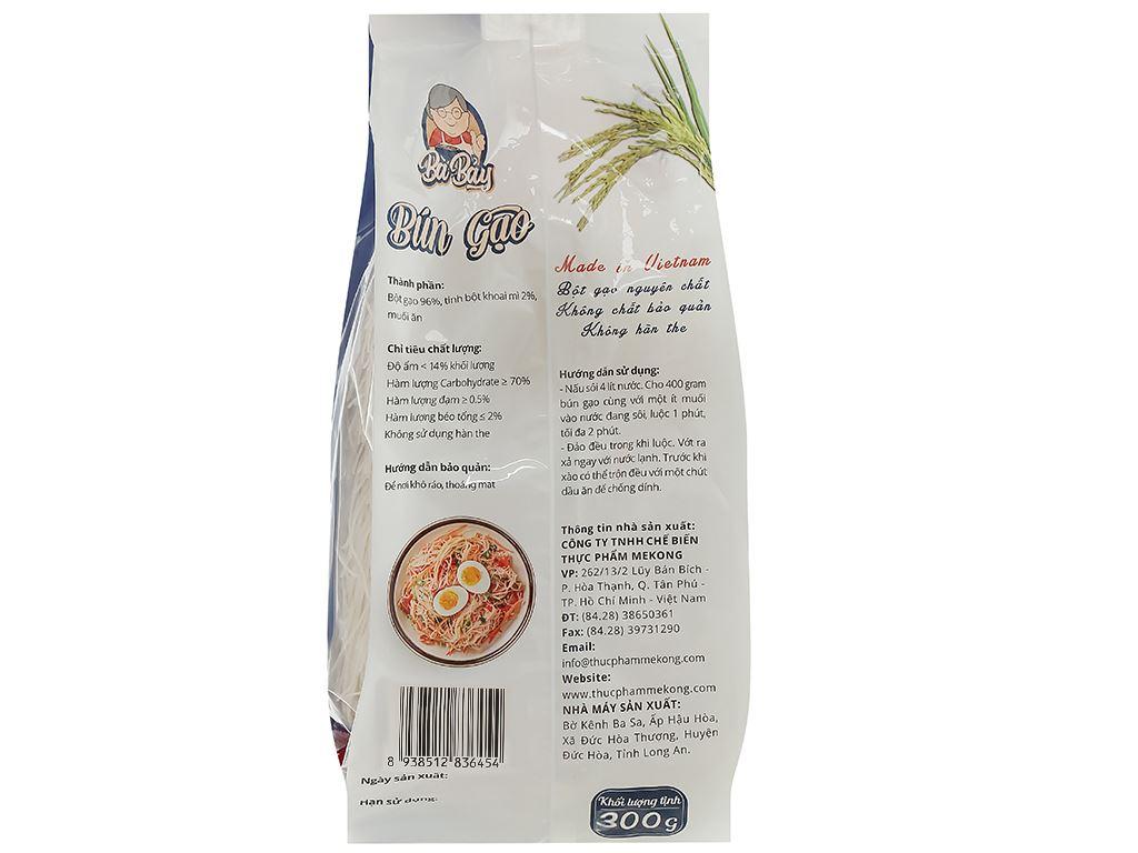 Bún gạo Bà Bảy gói 300g 2