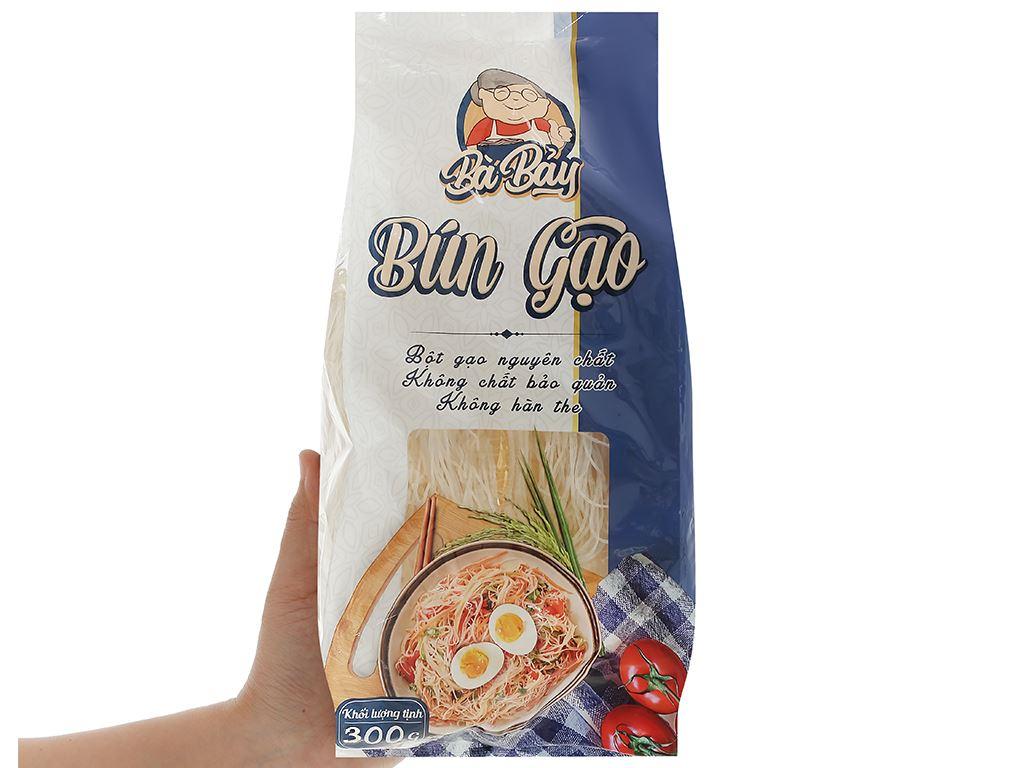 Bún gạo Bà Bảy gói 300g 4