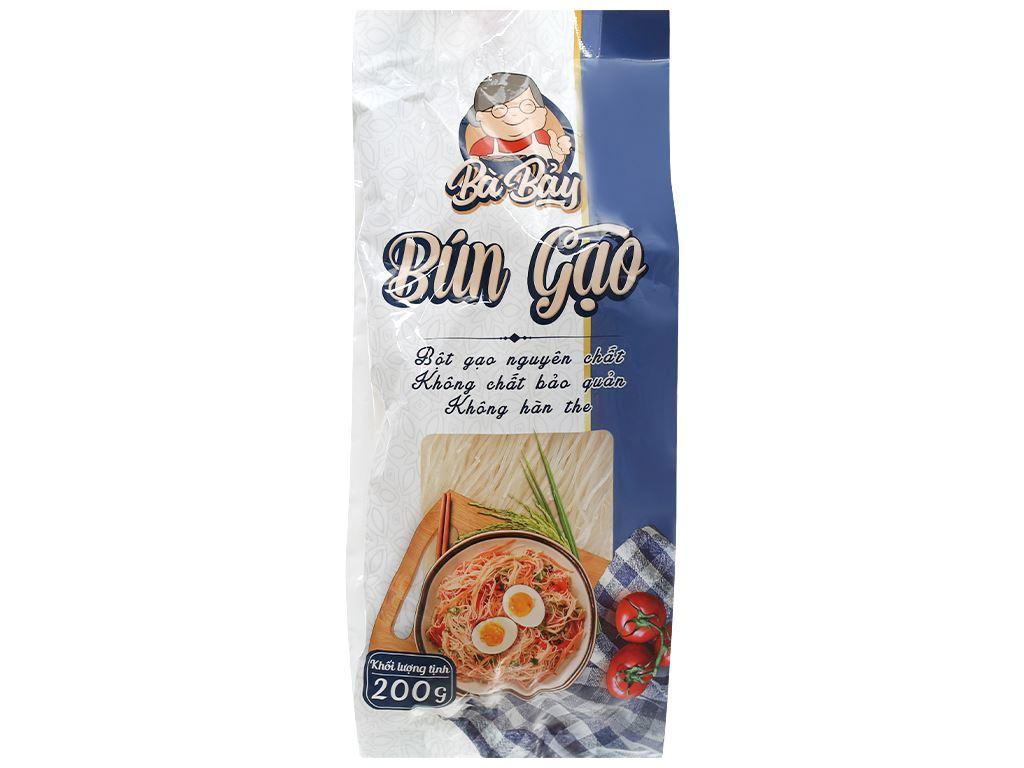 Bún gạo Bà Bảy gói 200g 1