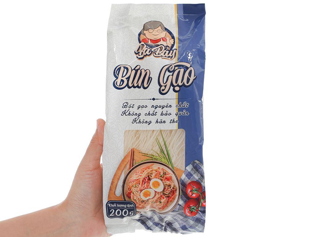 Bún gạo Bà Bảy gói 200g 4