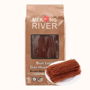Bún tươi dạng khô Mekong River gạo huyết rồng gói 300g