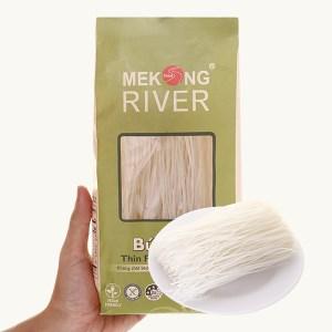 Bún tươi dạng khô Mekong River thin rice vermicelli gói 300g