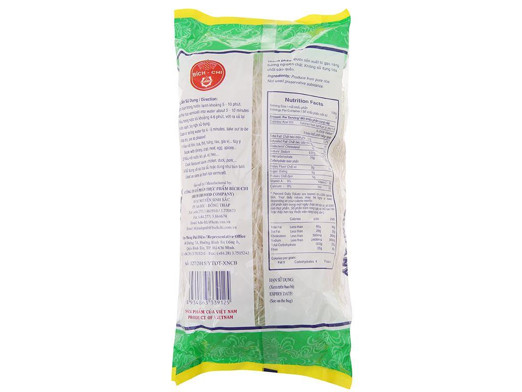 Bún gạo khô Nàng Hương Bích Chi gói 200g 3