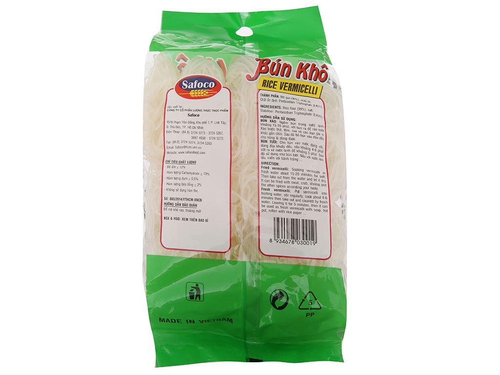 Bún gạo khô Safoco gói 400g 3