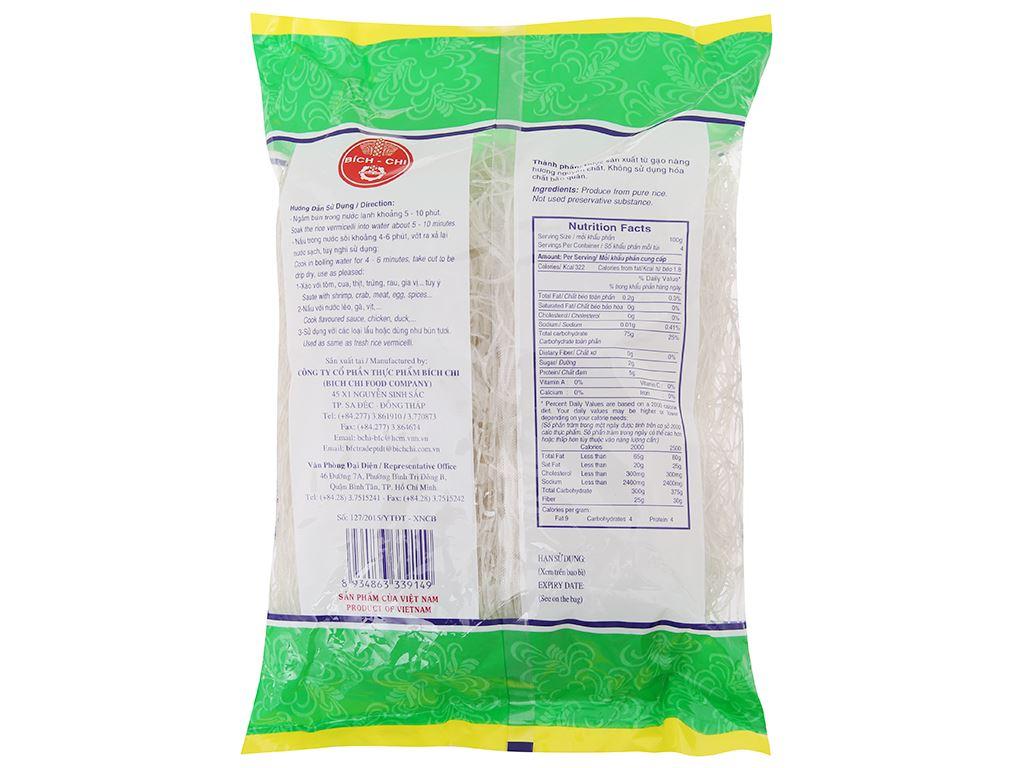 Bún gạo khô Nàng Hương Bích Chi gói 400g 3