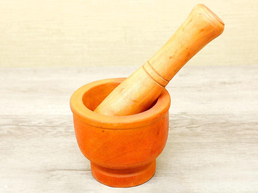 Bộ cối chày gỗ 14cm Thanh Điền 1