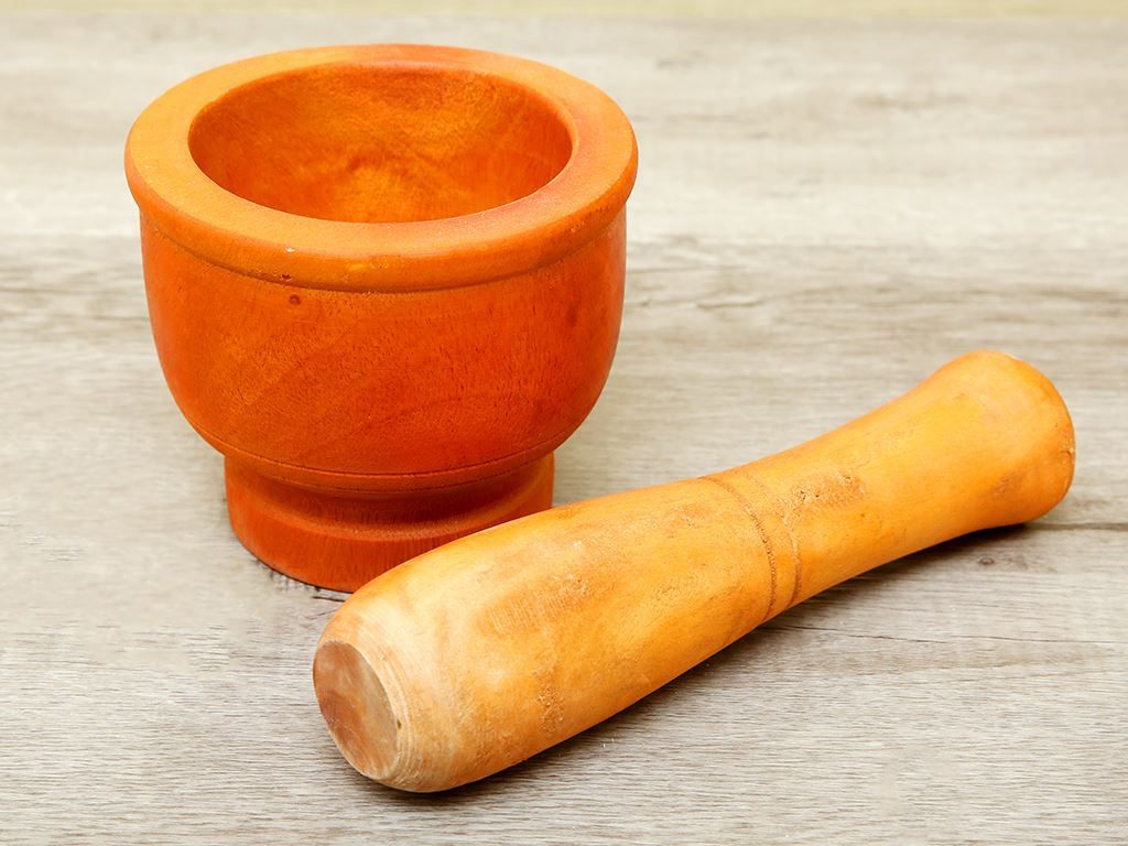 Bộ cối chày gỗ 14cm Thanh Điền 2