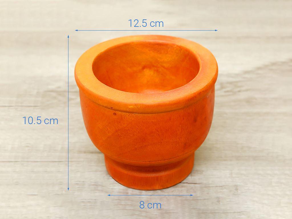 Bộ cối chày gỗ 14cm Thanh Điền 10