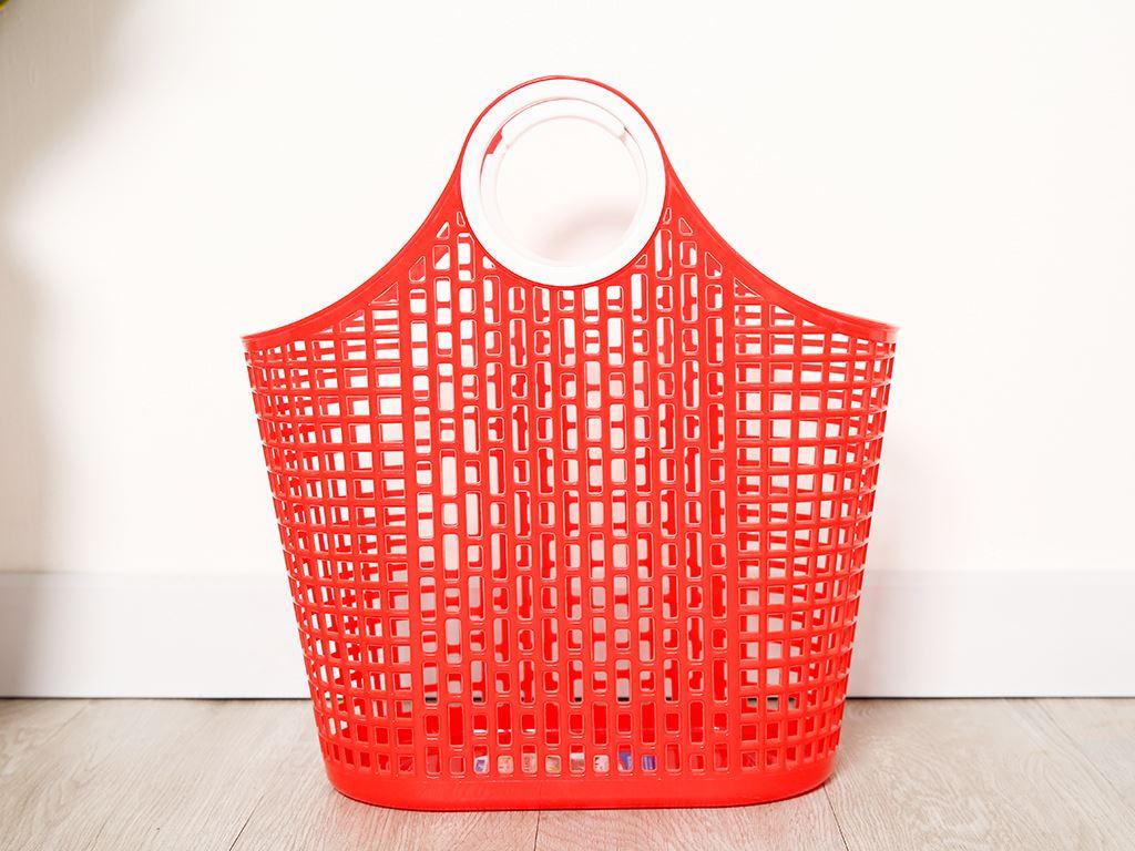 Giỏ xách đi chợ nhựa Duy Tân 38cm (giao màu ngẫu nhiên) 1