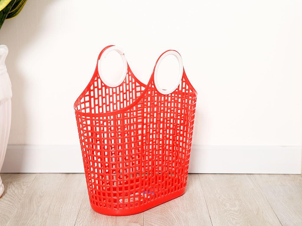 Giỏ xách đi chợ nhựa Duy Tân 38cm (giao màu ngẫu nhiên) 2