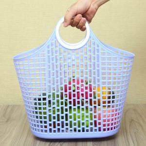 Giỏ xách đi chợ nhựa Duy Tân 41.5cm (giao màu ngẫu nhiên)