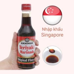 Sốt tẩm ướp Teriyaki truyền thống Kikkoman chai 250ml