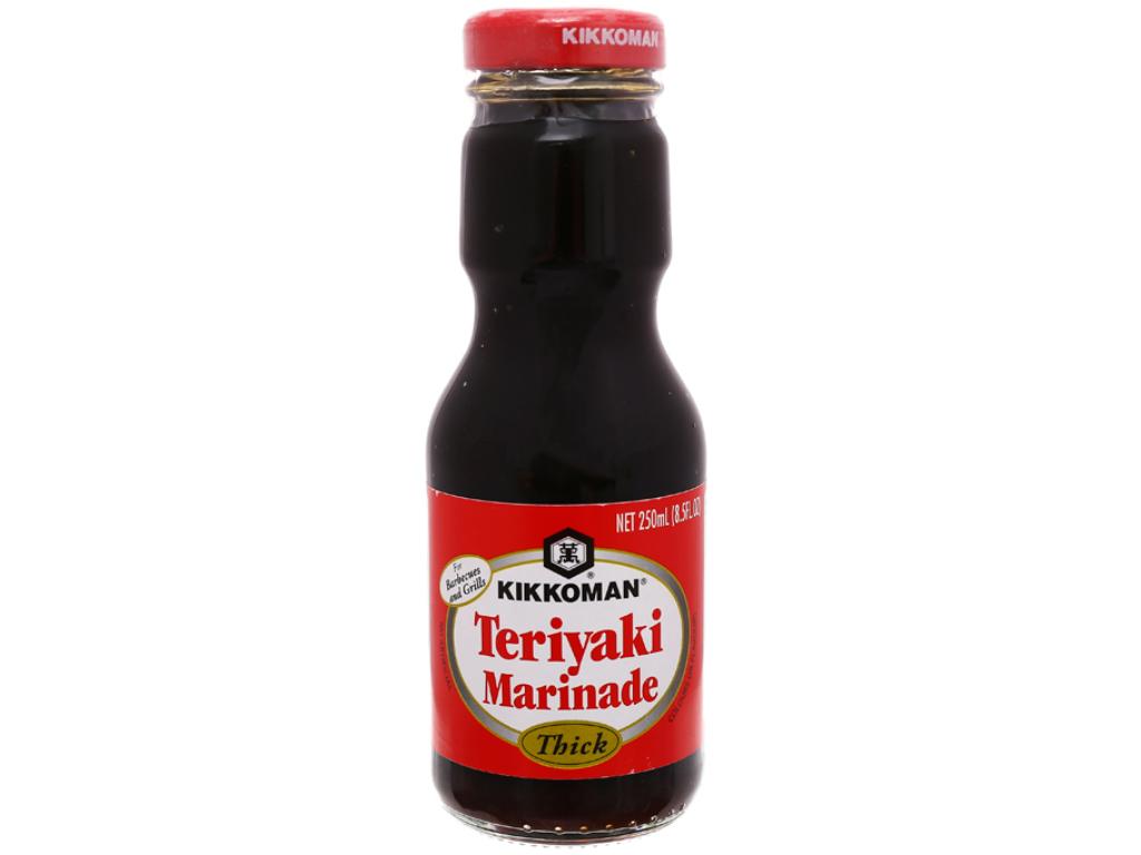 Xốt Teriyaki đậm đặc Kikkoman chai 250ml 2