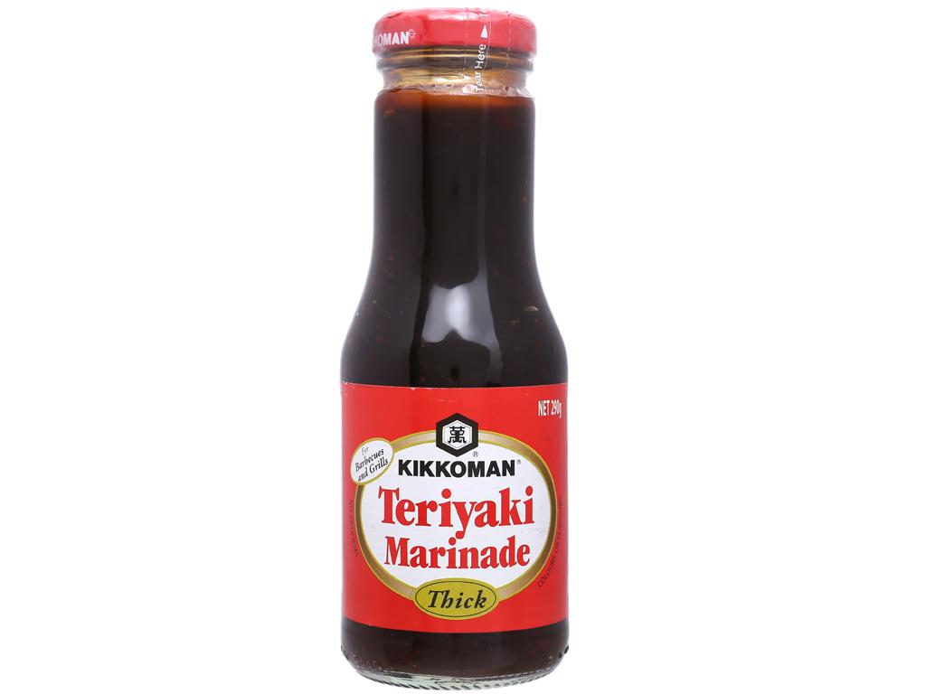 Xốt Teriyaki đậm đặc Kikkoman chai 250ml 3