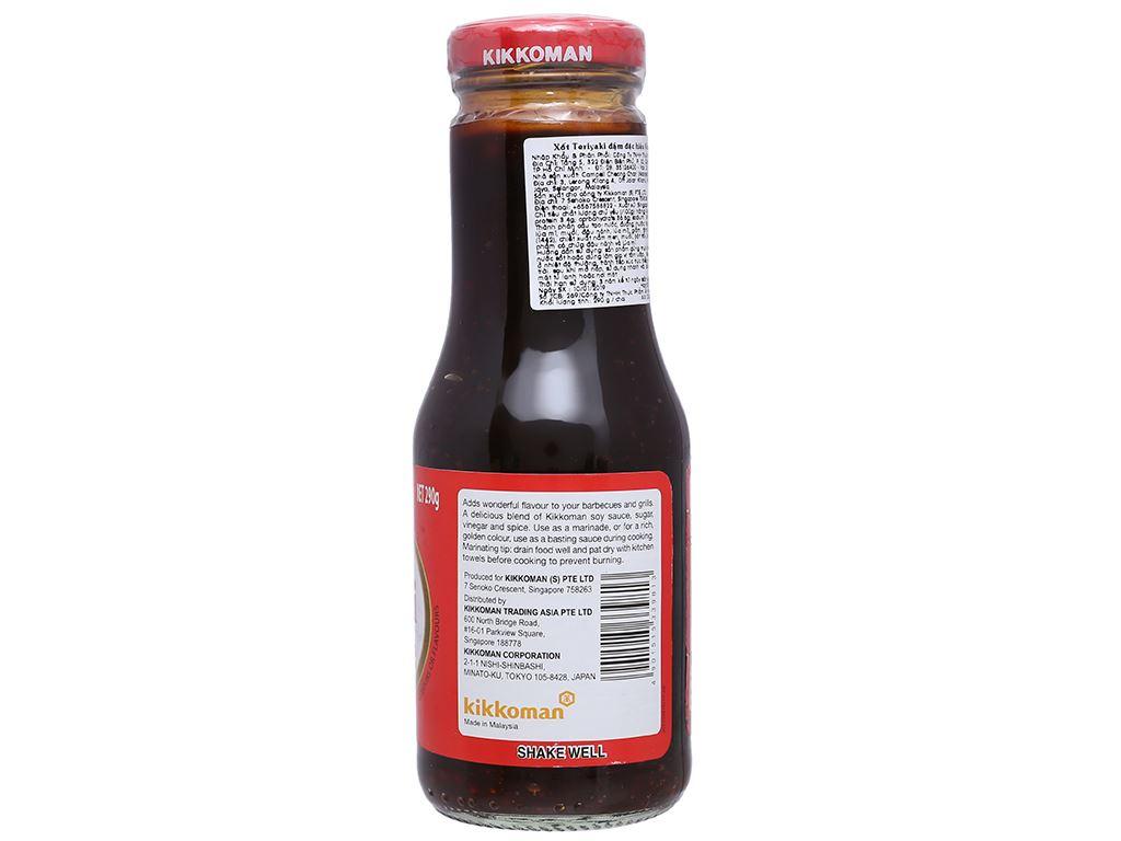 Xốt Teriyaki đậm đặc Kikkoman chai 250ml 4