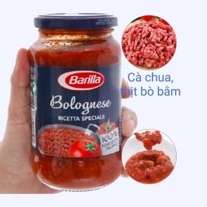 Sốt cà chua thịt bò bằm Barilla hũ 400g
