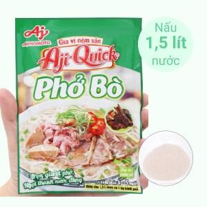 Gia vị nêm sẵn nấu phở bò Aji-Quick gói 57g