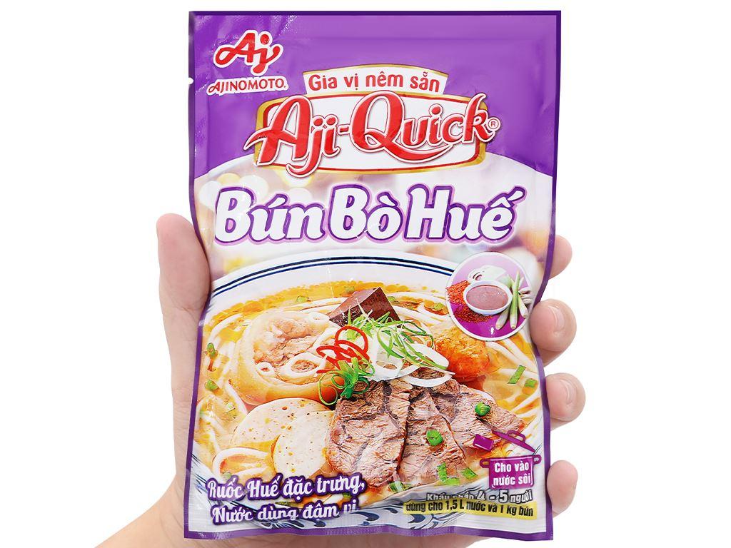 Gia vị nêm sẵn nấu bún bò Huế Aji-Quick gói 59g 5