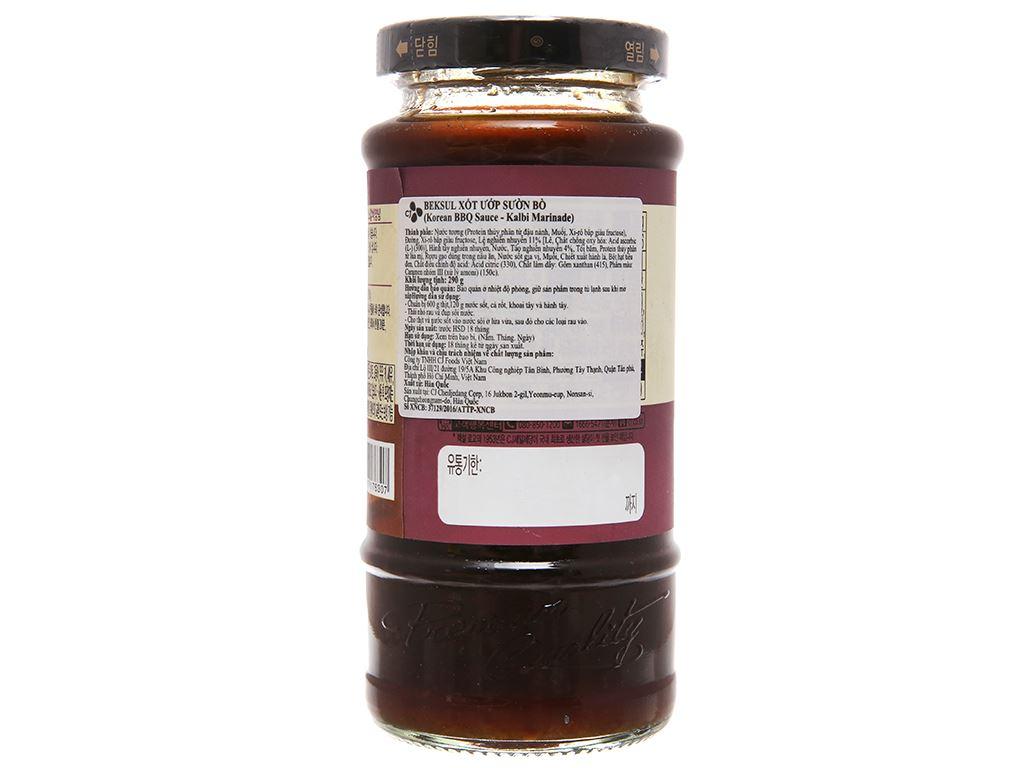 Sốt ướp sườn bò Beksul chai 290g 2