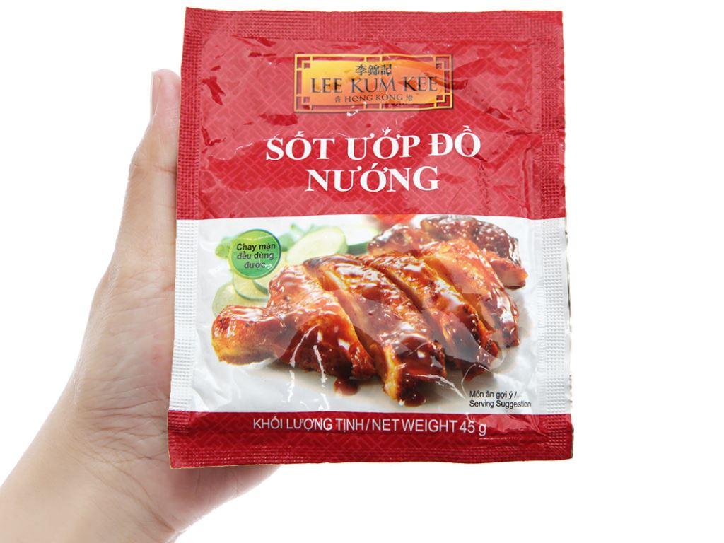 Sốt ướp đồ nướng Lee Kum Kee gói 45g 4