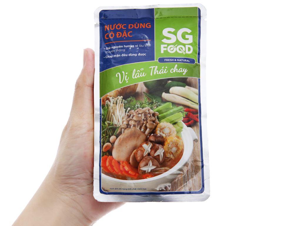 Nước dùng cô đặc lẩu Thái chay SG Food gói 150g 4