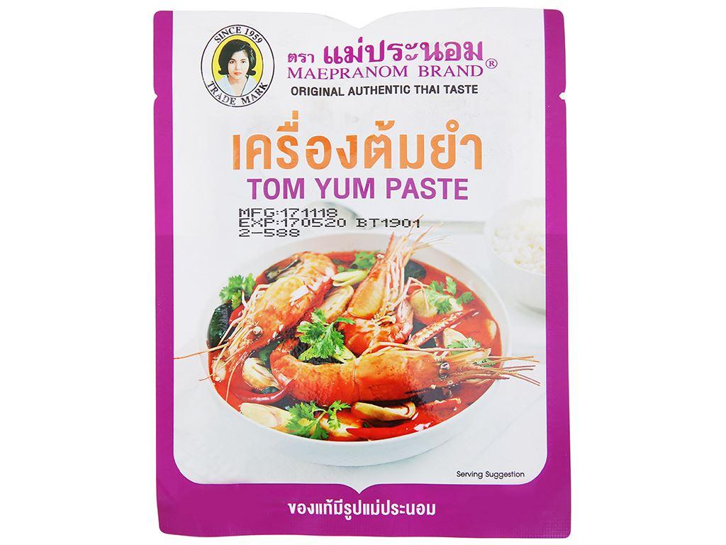 Sốt lẩu Thái Tom yum MaePranom gói 50g 1
