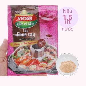 Gia vị nấu lẩu chua cay hương vị Thái Vedan gói 55g