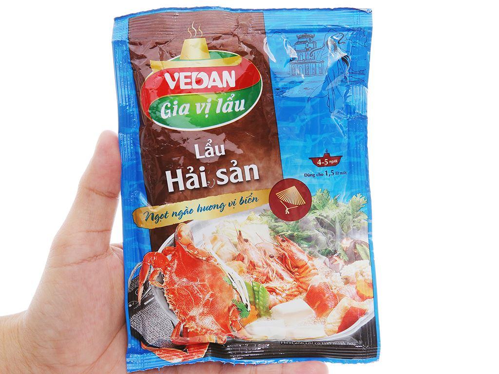 Gia vị nấu lẩu Hải Sản Vedan gói 60g 3