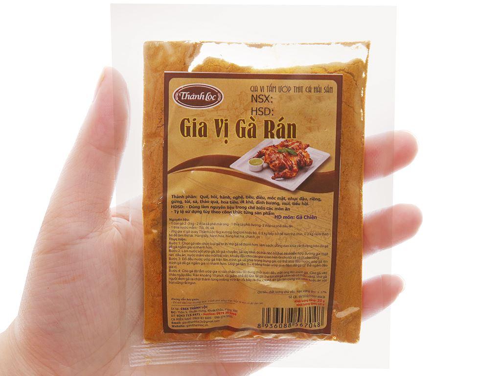 Gia vị gà rán Thành Lộc gói 20g 3