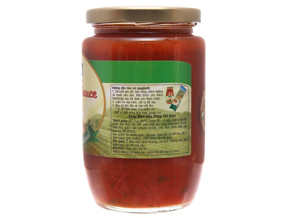 Xốt mì Spaghetti truyền thống Golden Farm hũ 370g 2